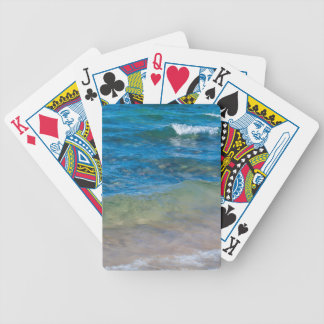 USA, Michigan. Clear Waters Of Lake Superior Bicycle Playing Cards