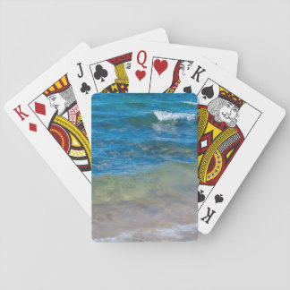 USA, Michigan. Clear Waters Of Lake Superior Card Deck