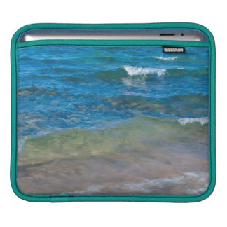 USA, Michigan. Clear Waters Of Lake Superior Sleeve For iPads