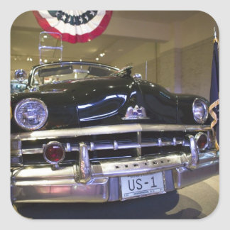 USA Michigan Dearborn The Henry Ford Museum 2 Square Sticker