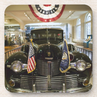 USA, Michigan, Dearborn: The Henry Ford Museum, Beverage Coaster