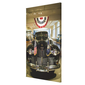 USA, Michigan, Dearborn: The Henry Ford Museum, Gallery Wrapped Canvas