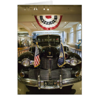 USA, Michigan, Dearborn: The Henry Ford Museum, Card