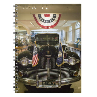 USA, Michigan, Dearborn: The Henry Ford Museum, Notebook