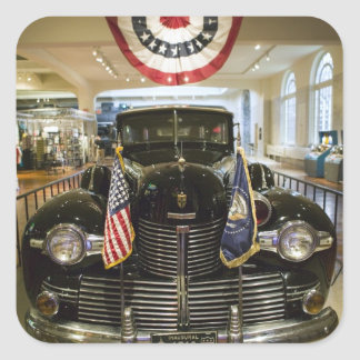 USA, Michigan, Dearborn: The Henry Ford Museum, Square Sticker