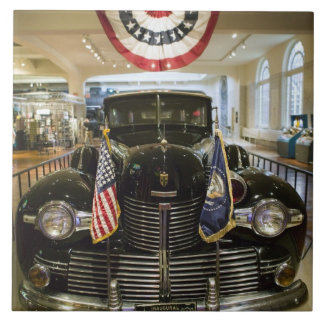 USA, Michigan, Dearborn: The Henry Ford Museum, Tile
