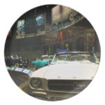 USA, Michigan, Detroit: Ford Rouge Factory Tour, Plates
