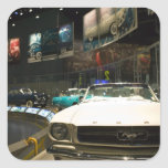 USA, Michigan, Detroit: Ford Rouge Factory Tour, Square Sticker