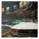 USA, Michigan, Detroit: Ford Rouge Factory Tour, Ceramic Tile