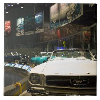 USA, Michigan, Detroit: Ford Rouge Factory Tour, Large Square Tile