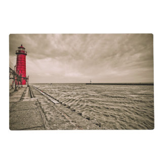 USA, Michigan, Grand Haven Lighthouse Placemat