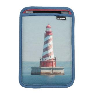 USA, Michigan, Great Lakes, Lake Michigan iPad Mini Sleeves