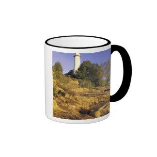 USA Michigan Lake Huron Pointe Aux Barques Coffee Mug