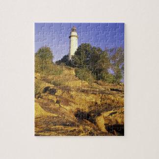 USA Michigan Lake Huron Pointe Aux Barques Jigsaw Puzzle