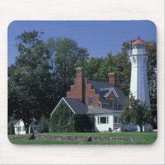 USA, Michigan, Lake Huron. Port Sanilac Mouse Pad