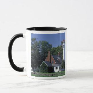 USA, Michigan, Lake Huron. Port Sanilac Mug