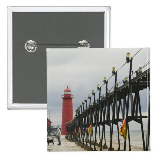 USA, Michigan, Lake Michigan Shore, Grand Haven: Buttons