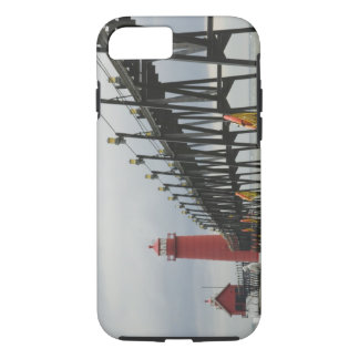 USA, Michigan, Lake Michigan Shore, Grand Haven: iPhone 7 Case