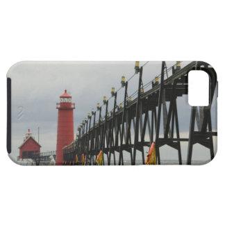 USA, Michigan, Lake Michigan Shore, Grand Haven: iPhone SE/5/5s Case