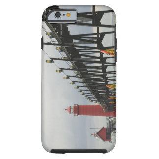 USA, Michigan, Lake Michigan Shore, Grand Haven: Tough iPhone 6 Case
