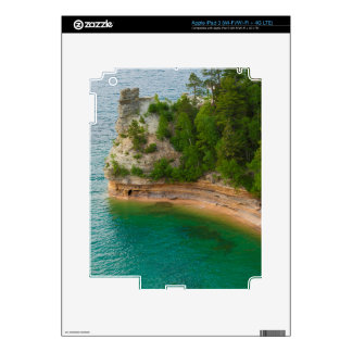 USA, Michigan. Miner's Castle Rock Formation iPad 3 Decal