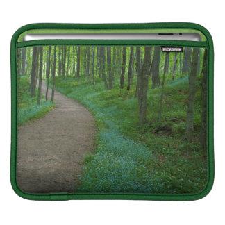 USA, Michigan. Miner's Falls Trail iPad Sleeves