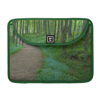 USA, Michigan. Miner's Falls Trail Sleeve For MacBook Pro