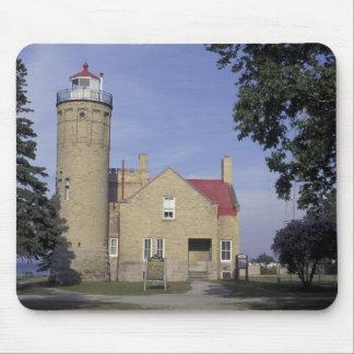 USA, Michigan Old Mackinac Point Lighthouse Mouse Pad