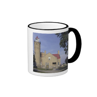 USA, Michigan Old Mackinac Point Lighthouse Ringer Mug