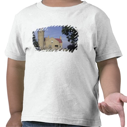 USA, Michigan Old Mackinac Point Lighthouse T Shirt