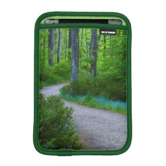 USA, Michigan. Path Thru The Woods iPad Mini Sleeves
