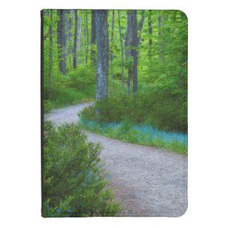 USA, Michigan. Path Thru The Woods Kindle Case