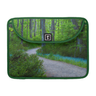 USA, Michigan. Path Thru The Woods MacBook Pro Sleeve