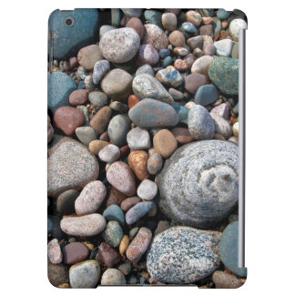 USA, Michigan. Polished Pebbles On The Shore Case For iPad Air
