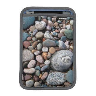 USA, Michigan. Polished Pebbles On The Shore iPad Mini Sleeves