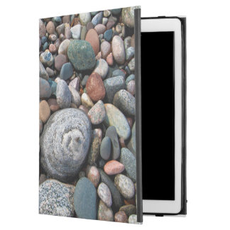 "USA, Michigan. Polished Pebbles On The Shore iPad Pro 12.9"" Case"