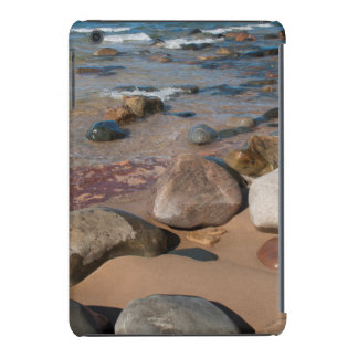 USA, Michigan. Rounded Boulders On 12 Mile iPad Mini Retina Case