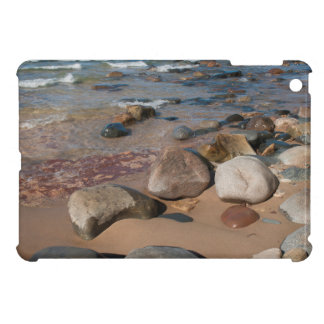 USA, Michigan. Rounded Boulders On 12 Mile Case For The iPad Mini