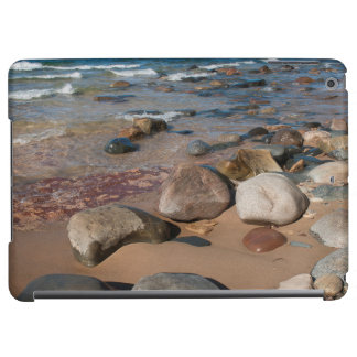 USA, Michigan. Rounded Boulders On 12 Mile iPad Air Covers