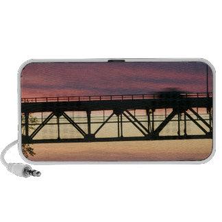 USA, Michigan, Straits of Mackinac: Mackinaw iPod Speakers