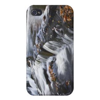 USA, Michigan, Upper Peninsula. Bond Falls and iPhone 4 Cover