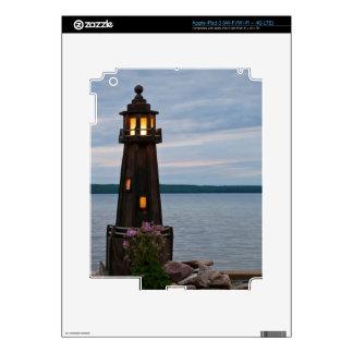 USA, Michigan. Yard Decoration Lighthouse Skins For iPad 3