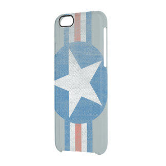 USA Military Aircraft Logo Clear iPhone case