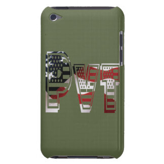 USA Military Green American Pvt Private Barely There iPod Case