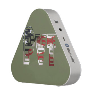 USA Military Green American Pvt Private Speaker
