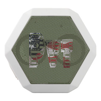 USA Military Green American Pvt Private White Bluetooth Speaker