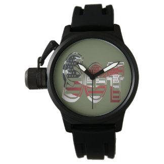 USA Military Green American Sgt Sergeant Wristwatch