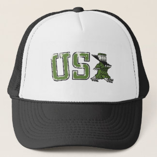 USA Military Parade Trucker Hat