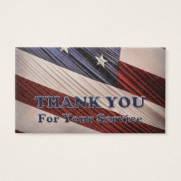 Military business cards 2500 military business card templates usa military veterans patriotic flag thank you business card reheart Gallery