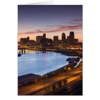 USA, Minnesota, Minneapolis, St. Paul 2 Card
